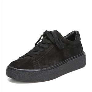 Vince Neela Lace Up Leather Platform Sneakers NEW